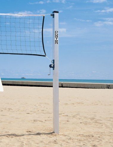 Porter Aluminum Volleyball Posts - Pair