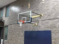 Porter Stationary Wall Mount Basketball Backstop