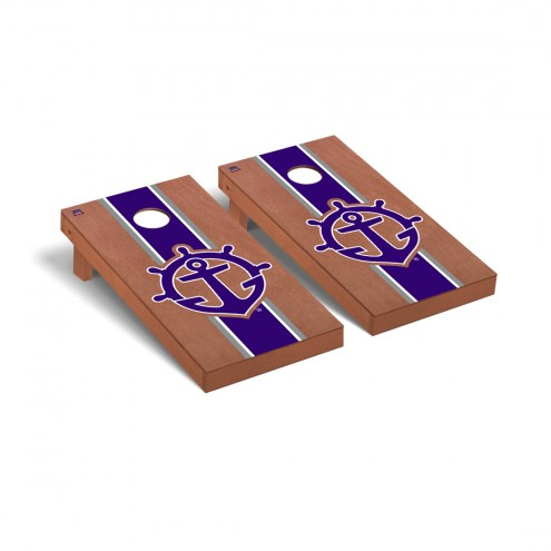 Portland Pilots Rosewood Stained Stripe Cornhole Game Set