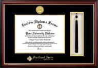 Portland State Vikings Diploma Frame & Tassel Box