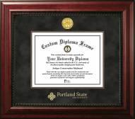 Portland State Vikings Executive Diploma Frame