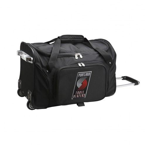"Portland Trail Blazers 22"" Rolling Duffle Bag"