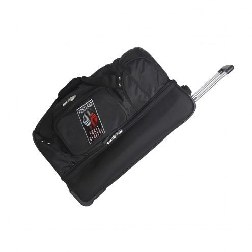 "Portland Trail Blazers 27"" Drop Bottom Wheeled Duffle Bag"