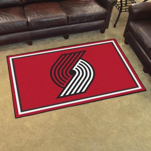 Portland Trail Blazers 4' x 6' Area Rug