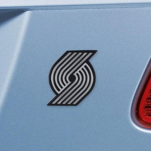 Portland Trail Blazers Chrome Metal Car Emblem