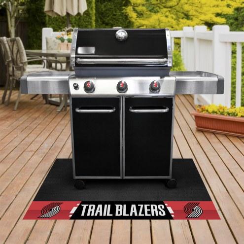 Portland Trail Blazers Grill Mat