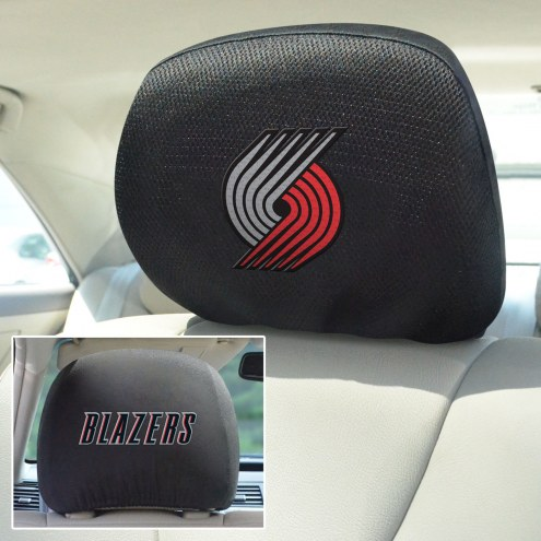 Portland Trail Blazers Headrest Covers