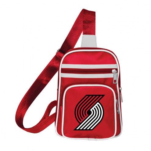 Portland Trail Blazers Mini Cross Sling Bag