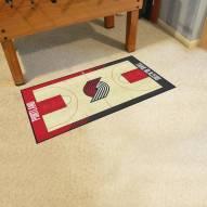 Portland Trail Blazers NBA Court Large Runner