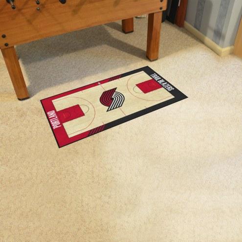 Portland Trail Blazers NBA Court Runner Rug