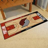 Portland Trail Blazers NBA Court Runner Rug