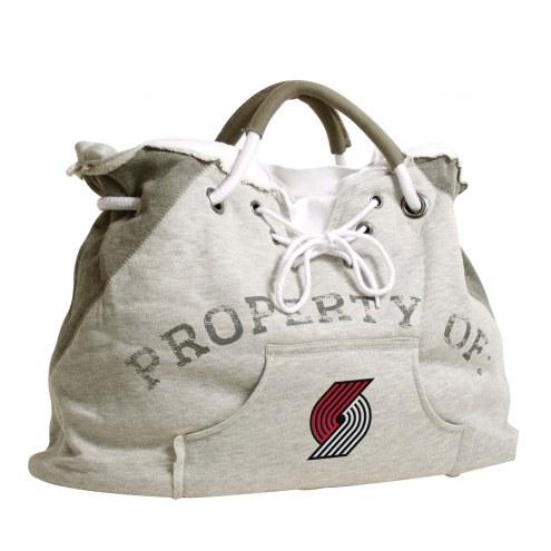 Portland Trail Blazers Hoodie Tote Bag