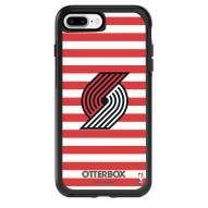 Portland Trail Blazers OtterBox iPhone 8 Plus/7 Plus Symmetry Stripes Case