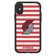 Portland Trail Blazers OtterBox iPhone X/Xs Symmetry Stripes Case