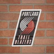 Portland Trail Blazers Outdoor Logo Graphic