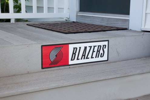 Portland Trail Blazers Outdoor Step Graphic