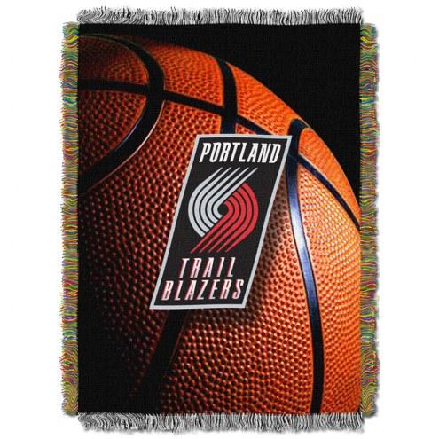 Portland Trail Blazers Photo Real Throw Blanket
