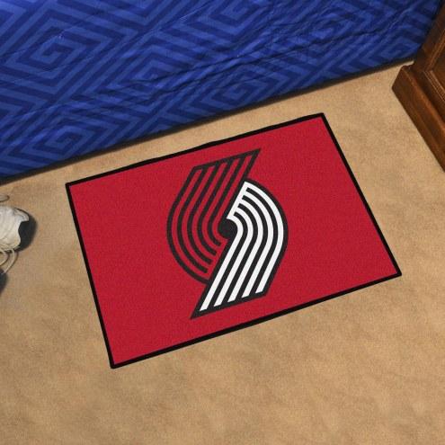 Portland Trail Blazers Starter Rug
