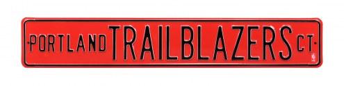 Portland Trail Blazers Street Sign