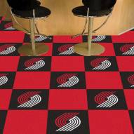 Portland Trail Blazers Team Carpet Tiles