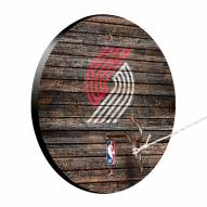 Portland Trail Blazers Weathered Design Hook & Ring Game