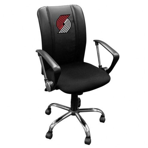 Portland Trail Blazers XZipit Curve Desk Chair