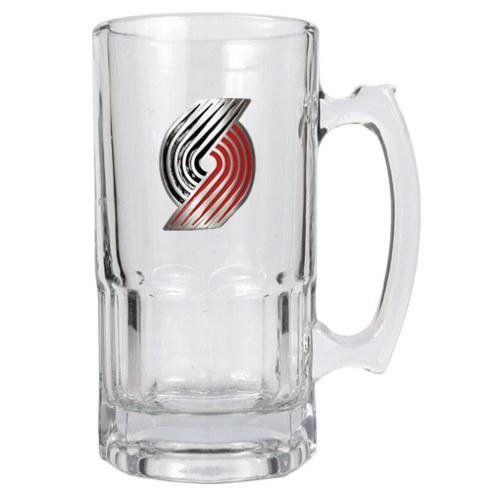 Portland Trailblazers NBA 1 Liter Glass Macho Mug