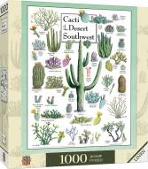Poster Art Cacti of the Desert Southwest 1000 Piece Puzzle