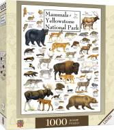 Poster Art Mammals of Yellowstone National Park 1000 Piece Puzzle