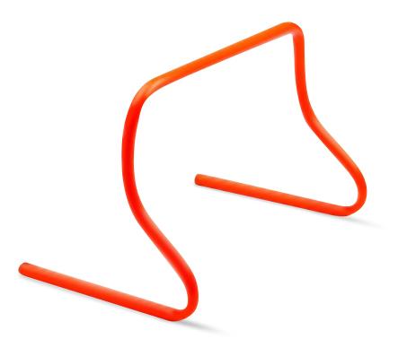 """PowerMax 6"""" Mini-Step Hurdle"""
