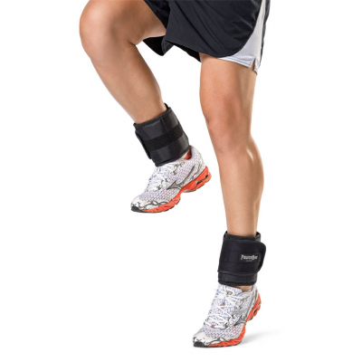 Power Max 2.5 LB Adjustable Ankle Weights - Pair Set