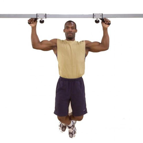 PowerLine Lat Pull-Up / Chin-Up Option