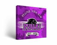 Prairie View A&M Panthers Banner Canvas Wall Art