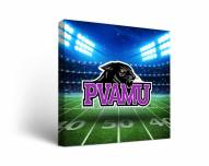 Prairie View A&M Panthers Stadium Canvas Wall Art