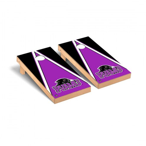 Prairie View A&M Panthers Triangle Cornhole Game Set