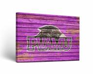 Prairie View A&M Panthers Weathered Canvas Wall Art