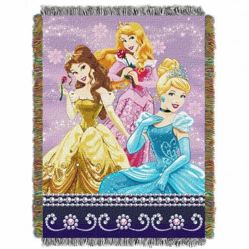 Princess Sparkle Dream Throw Blanket