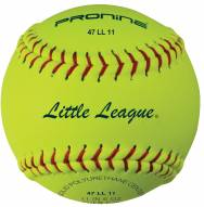 "Pro Nine 11"" Little League Leather Fastpitch Softballs - Dozen"