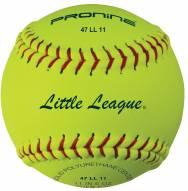 "Pro Nine 11"" Little League Leather Fastpitch Softballs - Dozen"