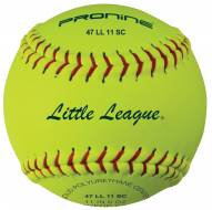 "Pro Nine 11"" Little League Synthetic Fastpitch Softballs - Dozen"