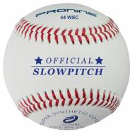 "Pro Nine 12"" 44 COR Synthetic Slowpitch Softballs - Dozen"