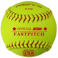 "Pro Nine 12"" Synthetic USA Poly Core Official Fastpitch Softballs - Dozen"