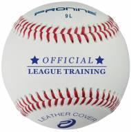 "Pro Nine 9"" Leather Indoor Practice Baseballs - Dozen"