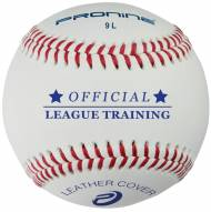 "Pro Nine 9"" Leather Indoor Practice Baseballs - Dozen"