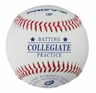 Pro Nine Collegiate Batting Practice Baseballs - Dozen