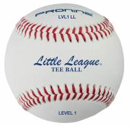 Pro Nine LVL1 Level 1 Little League Tee Balls - Dozen
