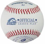 Pro Nine Pony League Regular Season Baseballs - Dozen