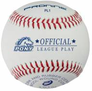 Pro Nine Pony League Regular Season Baseballs - Dozen