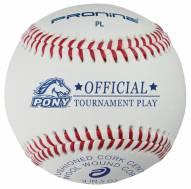Pro Nine Pony League Tournament Baseballs - Dozen