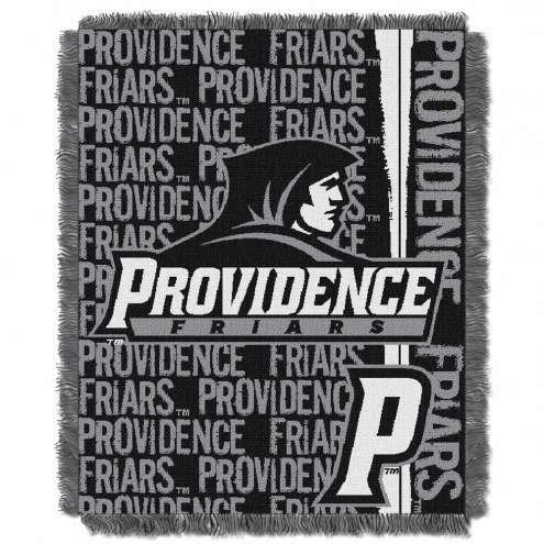 Providence Friars Double Play Woven Throw Blanket
